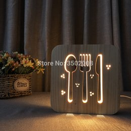 $enCountryForm.capitalKeyWord NZ - LED Wooden Tableware Design Hollowed-Out Night Light Warm White Light USB Power Supply As Room Club Decoror Anniversary Gift