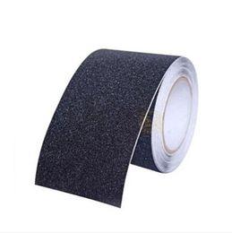 $enCountryForm.capitalKeyWord UK - Anti Slip Tape Stickers for Stairs Decking Strips Shower Strips Pad Flooring Safety Tape Mat (Black) 5M*15CM