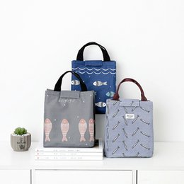 $enCountryForm.capitalKeyWord Australia - Cute Fish New Fresh Insulation Cold Bales Thermal Waterproof Oxford Lunch Bags Thermo Bags Office School Picnic Cooler Kids
