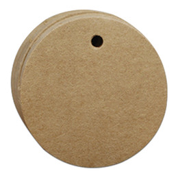 Wholesale 100PCS Kraft Paper Multi Sizes Variety of Kinds Blank Price Gift Hang Tag Paper Card Hand Draw Tag Luggage Wedding Party Note Package Labels