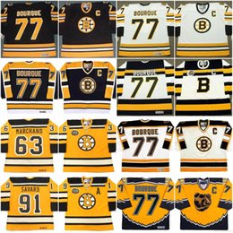 $enCountryForm.capitalKeyWord Australia - Boston Bruins Jersey 63 BRAD MARCHAND 2010 77 RAYMOND BOURQUE 1990 1992 91 PMARC SAVARD 2010 Winter Classic Vintage Hockey Jerseys