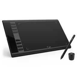 Art Tablets Australia - UGEE M708 Upgrades Graphic Tablet 8192 Level Digital Drawing Tablet Electronic Art Drawing Board 10x6 inch Active Area