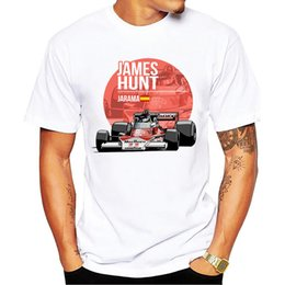 $enCountryForm.capitalKeyWord Australia - 2018 New Summer Men Plus Size Clothing Casual F1 Car Styling T Shirts James Hunt T-shirt Fashion Novelty Hip Hop Tee Tops