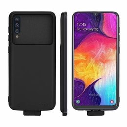 $enCountryForm.capitalKeyWord Australia - A50 Battery Case 7000mAh Magnetic Wireless Battery Charger Case For Samsung Galaxy A50 shockproof Extended Slim power bank Case