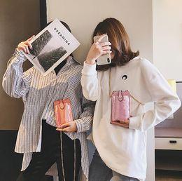 $enCountryForm.capitalKeyWord Australia - Fairy2019 Single Shoulder Package Woman Oblique Tide Satchel Mobile Phone Chain Packet