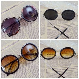 5fe85dabb Prince round mirrored sunglasses online shopping - Round Frame Sunglasses  Prince Mirror Hip Hop Men And
