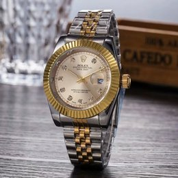 Platinum mens gifts online shopping - relogio masculino mens watches Luxury dress designer fashion Black Dial Calendar gold Bracelet Folding Clasp Master Male gifts couples