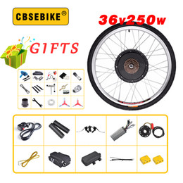 "24 Inch Bicycle Australia - CBSEBIKE high speed Conversion Kit 36V 250W 20"" 24"" 26"" 28"" 29 inch 700c EBike Electric Bicycle rear Motor Wheel"