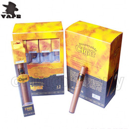 992473f90b New Disposable Cigar 1800 puffs disposable vape pen healthy electronic  cigarette Cuban cigars E Cig vaporizer vape cartridges top quality