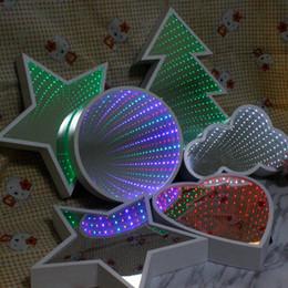 $enCountryForm.capitalKeyWord Canada - China factory priccce LED star mirror tunnel light box green light 3AA battery power for Christmas decorations, birthday party