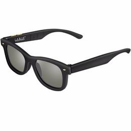 Lcd Glasses Lens Australia - Original Design Sunglasses Lcd Polarized Lenses Electronic Transmittance Mannually Adjustable Lenses Sun Glasses Vintage Frame Y19052001