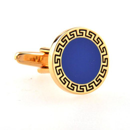 $enCountryForm.capitalKeyWord NZ - French Shirt Cufflink for Mens Gold Silver Brand Designer Business Cuff Links Button Male Luxury Wedding Jewelry Cheap Wholesale