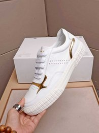 restore leather shoes NZ - 2019 new white sneakers men's restore ancient way flat leather shoes 39-44