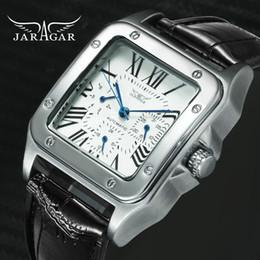 $enCountryForm.capitalKeyWord Australia - Jaragar Top Brand Luxury Watches For Men Women Unisex Automatic Mechanical 3 Working Sub-dials Fashion Dress Wrist Watch Man J190706
