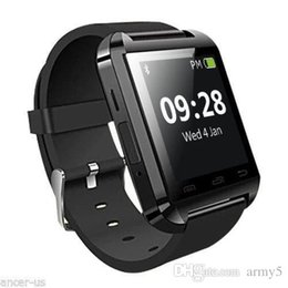 Smart Watches For Iphone 4s Australia - Bluetooth Smartwatch U8 U Watch Smart Watch Wrist Watches for iPhone 4 4S 5 5S Samsung S4 S5 Note 2 Note 3 HTC Android Phone