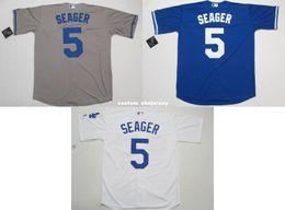 $enCountryForm.capitalKeyWord Australia - Cheap Custom Corey Seager #5 Cool Base Mens jerseys Stitched Retro Mens jerseys Customize any name number