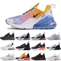 venda por atacado Chegada Nova 270 Max Mens Running Shoes Casual 720 instrutor Road Star Negras Azul Outdoor Maxes 27C Sneakers Tamanho 36-45