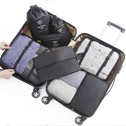 jewelry explosion Australia - Wateroorpf High-quality Multi-function Travel Pouch Eight Combination Explosion Models of Travel Goods Admission Package 9