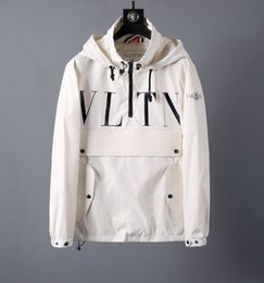 Long Products Australia - VLTN jacket for men jackets coats new product hot sell coat top high quality fabric Long section fashion