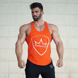 $enCountryForm.capitalKeyWord Australia - Mens cotton Slim fit sleeveless Shirts workout Undershirt Stringer vest tee clothes
