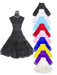 """China 26"""" 50s Retro Underskirt Swing Vintage Petticoat Fancy Net Skirt Rockabilly Tutu Underskirt Petticoat Fancy Net Skirt Rockabilly suppliers"""