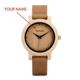 Gifts for Groomsmen online shopping - BOBO BIRD Couple Watch Men Women Wood Quarzt Wristwatches for Male Personalized Engraved Anniversary groomsman Gift
