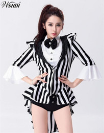 Wholesale costume jazz women for sale - Group buy Adult Women Magician Costume Circus Costumes Female Dance Jazz Clothing Nightclub Singer Dance Performances Costumes