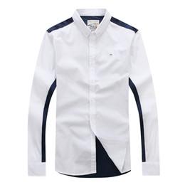 51b099f0f0d 2019 Eden park Nueva camisa de manga larga para hombre de alta calidad  Diseño agradable Tela de algodón estilo casual de negocios TALLA M L XL XXL  Envío ...
