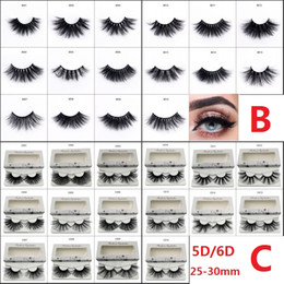 54e8810e739 5D 6D 25-30mm Permanent Thick Fluffy Handmade Soft Mink Eyelash Extension  Volume Natural Individual Natural Women Eye Lashes