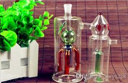 $enCountryForm.capitalKeyWord Australia - Strawberry twin hookah Wholesale Glass bongs Oil Burner Glass Water Pipes Oil Rigs Smoking Free