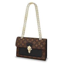 $enCountryForm.capitalKeyWord UK - 2019 M41730 Victoire New Fashion Black Chain Bag Handbags Shoulder Bags Hobo Handbags Top Handles Boston Cross Body Messenger Shoulder Bags