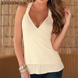 Discount cheap wholesale women clothes - Tops Mujer Verano 2019 Crop Top Mujer Womens Clothing Sexy China Tank Top Solid Color Plus Size Gothic Summer Cheap Clot
