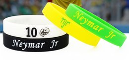 $enCountryForm.capitalKeyWord Australia - Top quality rubber power wristband football sports super star signature silicone bangle as neymar fans student bracelet