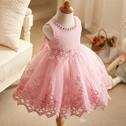$enCountryForm.capitalKeyWord Australia - Princess Pageant Lace Tulle Children Formal Party Special Occasions Dress,Charming Flower Girl Dress Girl Dresses Tutu Gown ALBB12