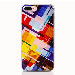 $enCountryForm.capitalKeyWord Australia - For iPhone XS XR XS Max X 5 5S 6 6S 7 8 Plus case Soft TPU Print pattern Geometric picture High quality phone cases