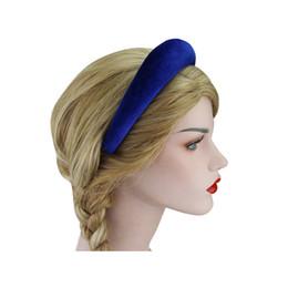 Thick headbands online shopping - Thick Velvet Women Headbands Hair  Accessories Head Band Fashion Headwear CM 32e5d3c3f90