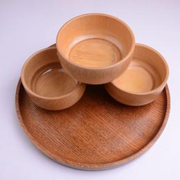 $enCountryForm.capitalKeyWord Australia - Natural Bamboo Rice Soup Bowl Food Containter Kitchen Utensil Tableware Wholesale