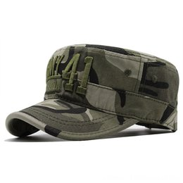 fitted tactical hats UK - Men Tactical CamoHats Embroidery Flat Cap Team Male Hats & Caps Hats, Scarves & Gloves Baseball Caps Army Force Jungle Hunting Cap