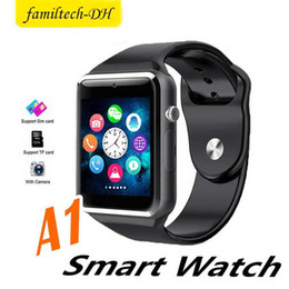 $enCountryForm.capitalKeyWord Australia - A1 Bluetooth Smartwatch for IOS iPhone & Samsung Android Phone Smart Watch with Camera Intelligent Clock Smartphone Sports Watches