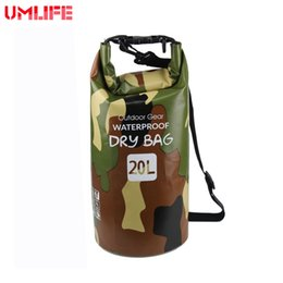 878bcb70fd01 Outdoor Diving Compression Storage Waterproof Bag Ocean Pack 20L Dry  Camouflage Bag For Man Women Swimming Rafting Kayak  109638
