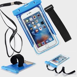 $enCountryForm.capitalKeyWord Australia - Universal PVC Phone Protective Cover Waterproof Diving Seal Swimming Underwater Bag Case Mobile Dry Cover Pouch For Note Samsung LG HTC