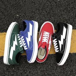 Discount toe sneakers online shopping - New Revenge x Storm Old Skool Skateboarding Sneakers Discount Sport Shoes Trainers for Men Women Canvas Sneakers for Outdoor
