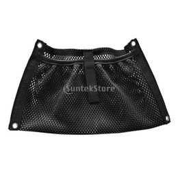 $enCountryForm.capitalKeyWord Australia - Durable Black Nylon Marine Boat Yacht Kayak Canoe Dinghy Gear Accessories Beer Tackle Box Storage Mesh Bag Side Pouch Organizer