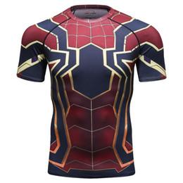 8430db663 Marvel Iron Man T Shirt Australia - New 3d Iron Spiderman T-shirt Men Marvel