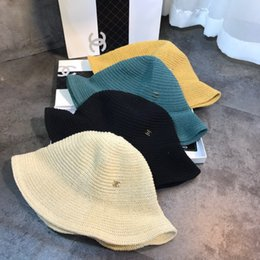 Wide brimmed cloche hats online shopping - Large Floppy Hats Foldable Straw Wide Brim Summer Beach For Lady Sunscreen Caps For Women