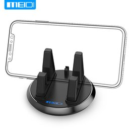 Discount silicone mobile phone car holder - MEIDI Universal Soft Silicone Mobile Phone Holder Car Dashboard GPS Anti Slip Mat Desktop Stand Bracket for iPhone 5s 6