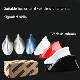 AeriAl for cArs online shopping - Car Antenna Shark Fin Antenna Radio FM Signal Aerials for Auto SUV VW Polo Ford Chevrolet Cruze qashqai Peugeot Toyota KIA