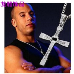 chain speed Australia - European and American Jewelry Torredo Speed and Passion 8 Pendant Cross Necklace Men's Necklace