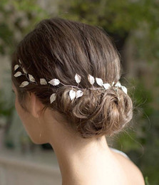 $enCountryForm.capitalKeyWord Australia - Cheap Hair Jewelry KMVEXO Hair Accessories 2019 Wedding Bridal Headband Leaves Hairband Women Head Ornament Ladies Hairs Jewelry
