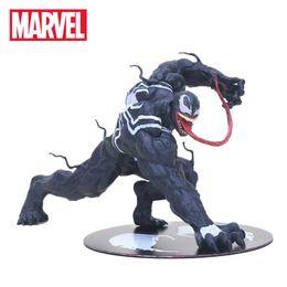 Amazing Spider Man Figures Australia - 12cm Marvel Toys Artfx The Amazing Venom Spider Man Figure Venom Artfx 1 10 Scale Pvc Action Figures Superhero Collectible Model Q190429